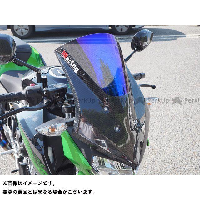 【特価品】マジカルレーシング Z400 バイザースクリーン 材質:綾織りカーボン製 カラー:スモーク Magical Racing