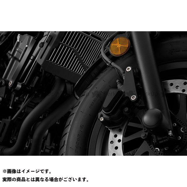 バイカーズ レブル250 レブル500 H0420 FRキャリパーガード ブラック BIKERS