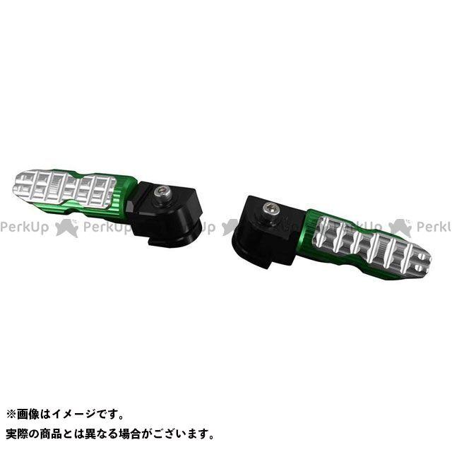 バイカーズ ニンジャ250SL Z250SL K0313 リアタンデムステップ カラー:グリーン BIKERS