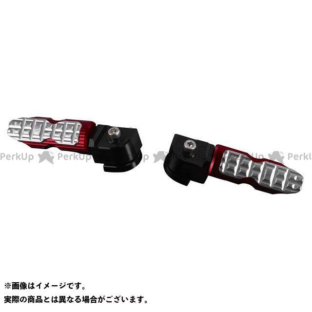 バイカーズ ニンジャ250SL Z250SL K0313 リアタンデムステップ カラー:レッド BIKERS
