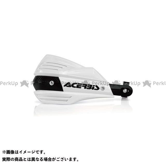 アチェルビス 汎用 AC-17557 X-FACTORハンドガード(ホワイト) ACERBIS