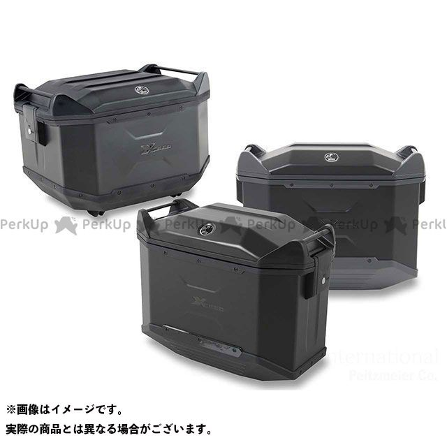 ヘプコアンドベッカー HEPCO&BECKER XCEED 3BOXセット トップサイドケースセット/サイドケース セット ブラック