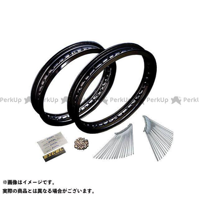 ネクサス SR400 17インチアルミリムスポークセット(ブラック) 2.50/4.25 NEXXS