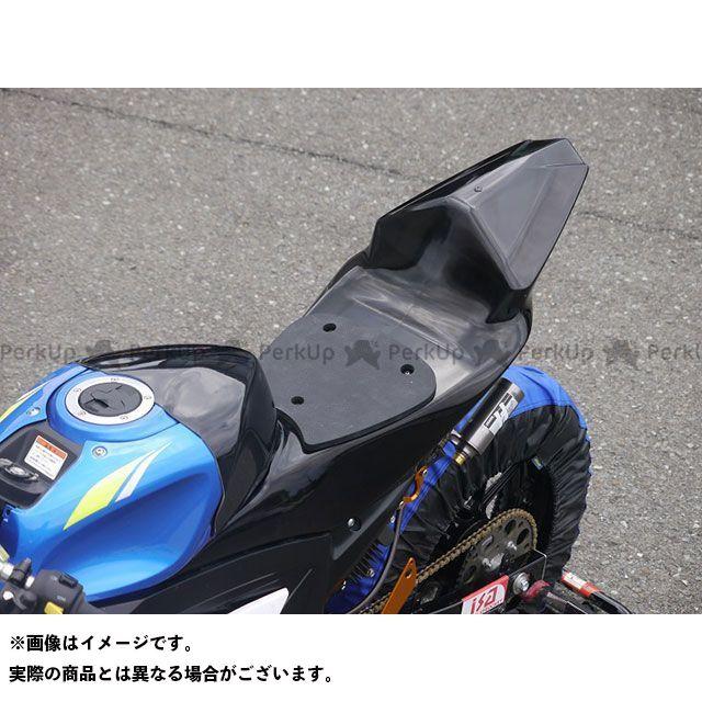 才谷屋 GSX-R125 GSX-R150 GSX-R125 シングルシート/レース/黒ゲル 仕様:バフ済み/裏板ビス留 才谷屋ファクトリー