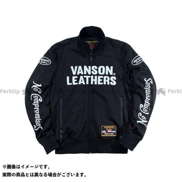 VANSON 2019-2020秋冬モデル VS19403W スウェットジャケット(ブラック/ホワイト) XL バンソン