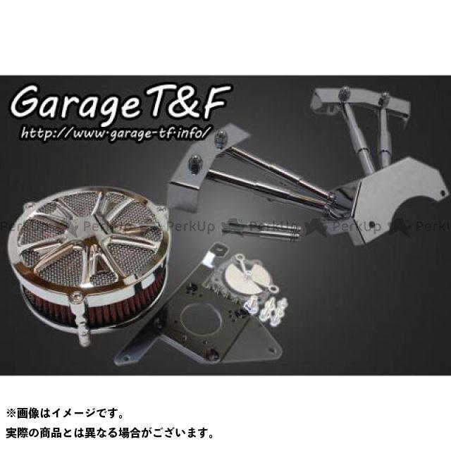 ガレージT&F ドラッグスター400(DS4) ドラッグスタークラシック400(DSC4) ラグジュアリースター&プッシュロッドカバーセット メッキ ガレージティーアンドエフ