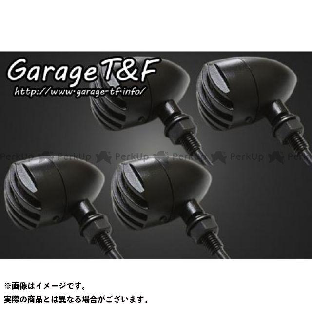 ガレージT&F ドラッグスタークラシック400(DSC4) ウインカー関連パーツ バードゲージウィンカータイプ1 ダークレンズ仕様キット クラシックモデル専用 ブラック ブラック