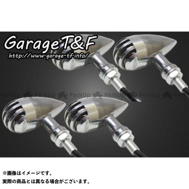 ガレージT&F ドラッグスタークラシック400(DSC4) バードゲージウィンカータイプ2(ポリッシュ) ダークレンズ仕様キット クラシックモデル専用 ゲージ:ポリッシュ ステー:メッキ ガレージティーアンドエフ