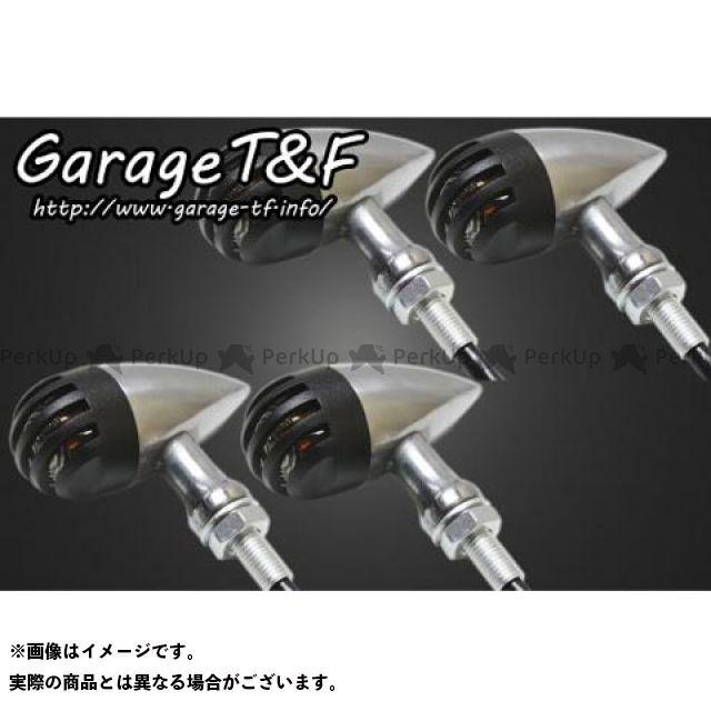 ガレージT&F ドラッグスタークラシック400(DSC4) ウインカー関連パーツ バードゲージウィンカータイプ2(ポリッシュ) ダークレンズ仕様キット クラシックモデル専用 ブラック ブラック