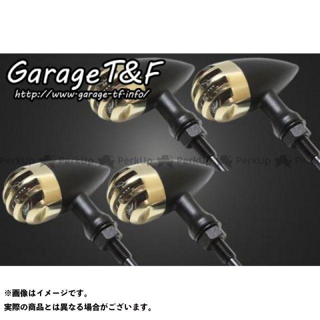 ガレージT&F ドラッグスタークラシック400(DSC4) バードゲージウィンカータイプ2(ブラック) ダークレンズ仕様キット クラシックモデル専用 ゲージ:真鍮 ステー:ブラック ガレージティーアンドエフ