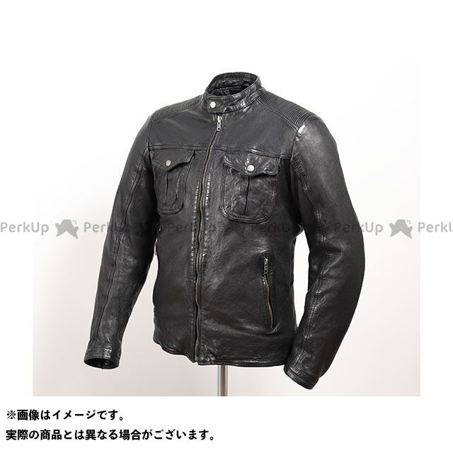 DEGNER デグナー ジャケット バイクウェア DEGNER 2019-2020秋冬モデル 19WJ-12 シープレザージャケット(ブラック) M メーカー在庫あり デグナー
