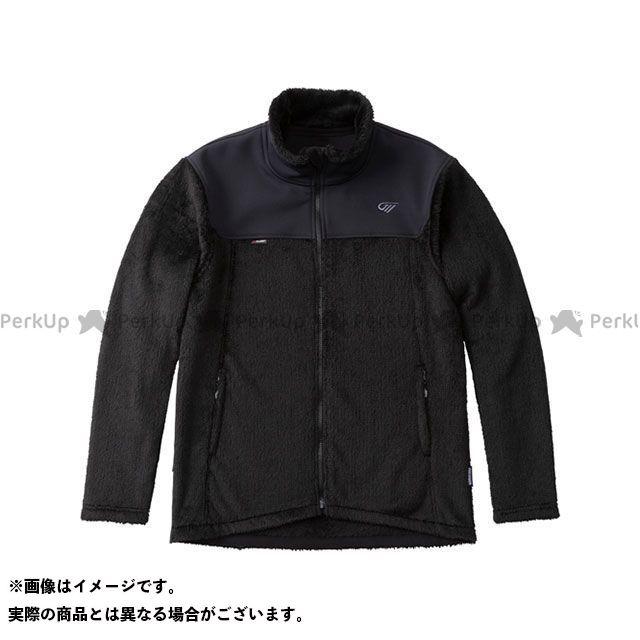 ゴールドウイン 2019-2020年秋冬モデル GSM24951 ハイブリッド(R)フリースジャケット(ブラック) XL GOLDWIN