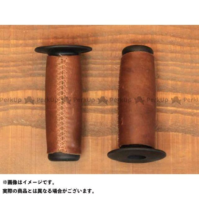 BEE TRAD フランス製 オーダーメイド レザーグリップ レザーカラー:Black 糸カラー:ブラウン ビートラッド