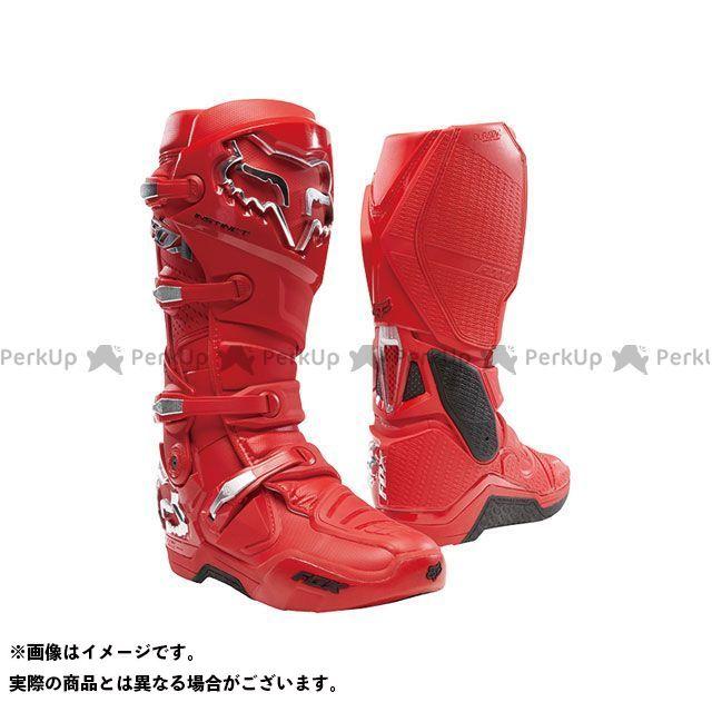 【エントリーで更にP5倍】FOX インスティンクト 2.0 ブーツ(フレイムレッド) サイズ:9/26.5cm フォックス