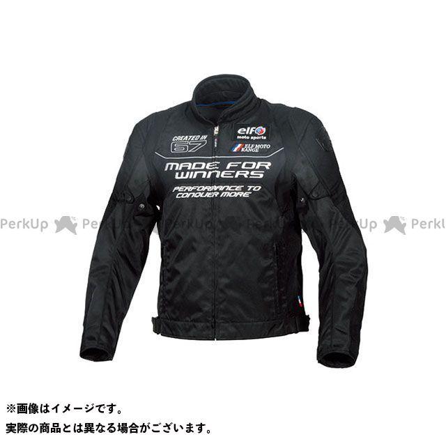 elf riding wear 2019-2020秋冬モデル EL-9245 ヴィストーゾジャケット(ブラック) LL エルフ ライディングウェア
