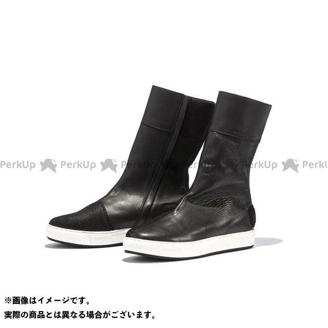 KADOYA 2019-2020秋冬モデル ALTER KEIS No.4330 LEATHER HIGH SNEAKER(ブラック/ホワイト) 27.0cm カドヤ