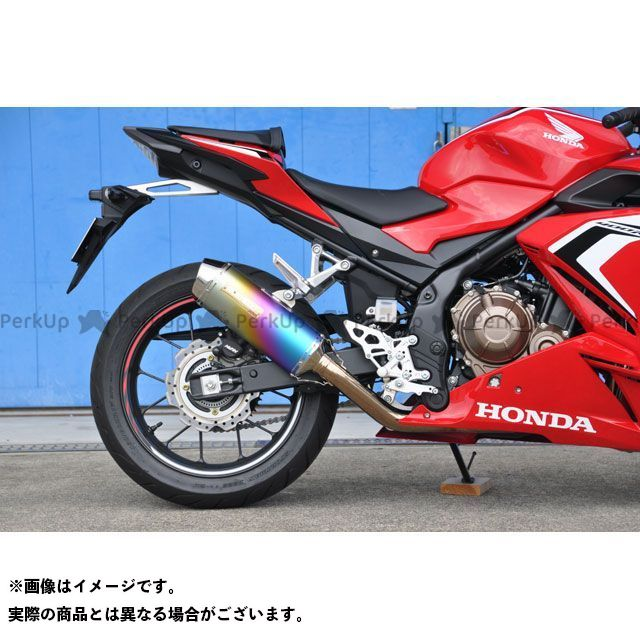 モリワキ CBR400R MX マフラー タイプ:ANO(アノダイズドチタン) MORIWAKI