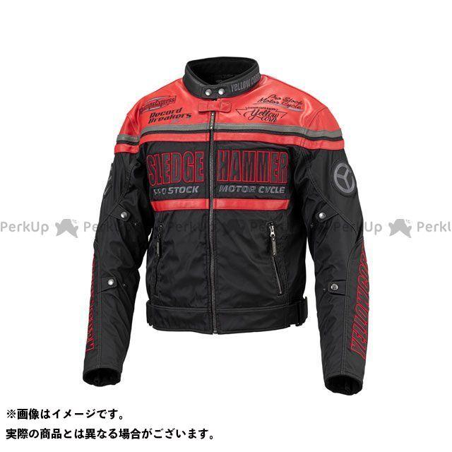 イエローコーン YeLLOW CORN ジャケット バイクウェア イエローコーン 2019-2020秋冬モデル BB-9304 ウインタージャケット(レッド/ブラック) 3LW YeLLOW CORN