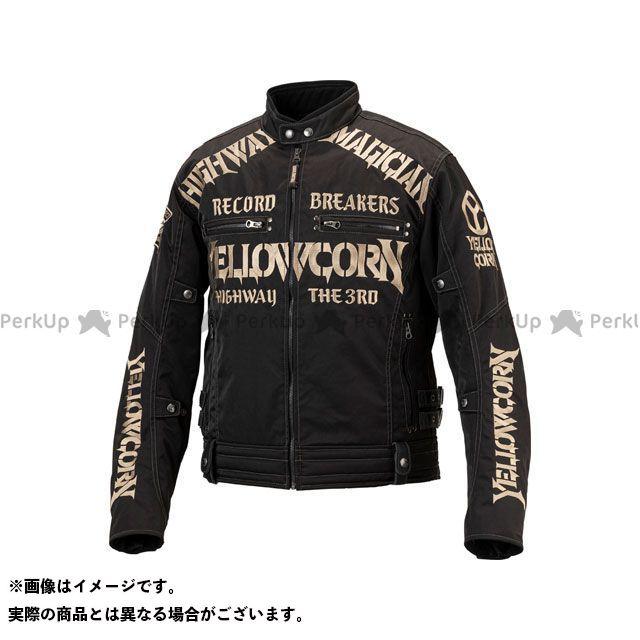 イエローコーン YeLLOW CORN ジャケット バイクウェア イエローコーン 2019-2020秋冬モデル YB-9305 ウインタージャケット(ブラック/アイボリー) 3LW YeLLOW CORN