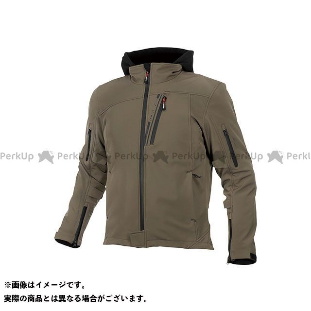 コミネ 2019-2020秋冬モデル JK-590 プロテクトソフトシェルウインターパーカ(ディープオリーブ) サイズ:M KOMINE
