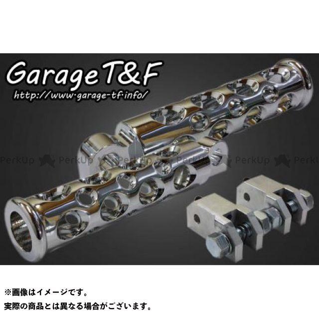 【エントリーで更にP5倍】ガレージT&F ドラッグスター400(DS4) ドラッグスタークラシック400(DSC4) コンバットフットペグ セット内容:リアセット カラー:メッキ ガレージティーアンドエフ
