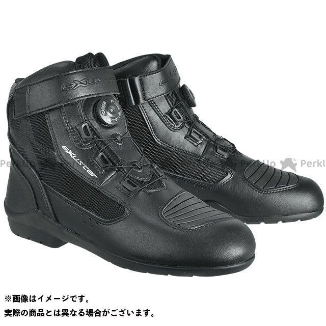 【エントリーで更にP5倍】EXUSTAR E-SBT271W ダイヤル式ライディングブーツ カラー:ブラック サイズ:41/26.0cm エグザスター