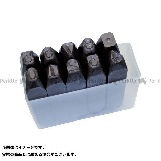 TRUSCO TRUSCO ハンドツール 工具 TRUSCO 数字刻印セット 16mm  TRUSCO