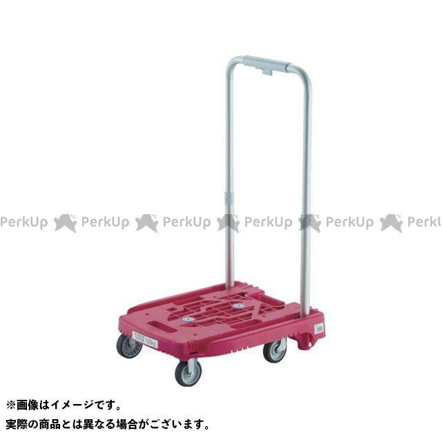 TRUSCO 樹脂台車 アイドルキャリー weego ピンク TRUSCO