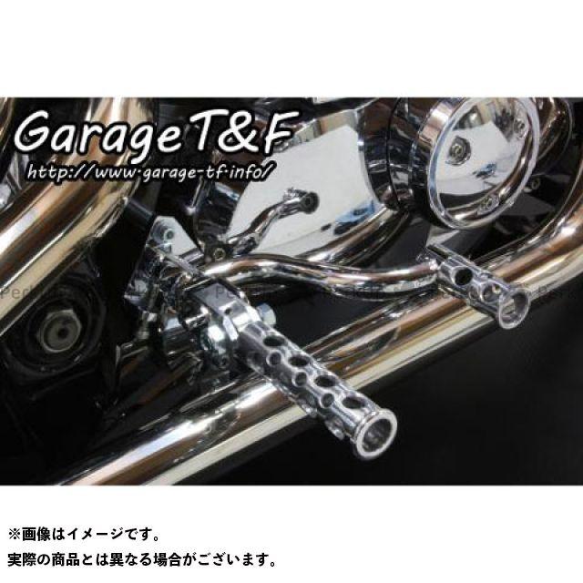 ガレージT&F ドラッグスター400(DS4) ドラッグスタークラシック400(DSC4) その他ステップ関連パーツ ミッドコントロールキット コンバット メッキ ポリッシュ