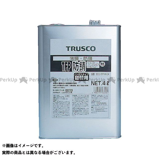 TRUSCO TFP防錆剤 無色 4L TRUSCO
