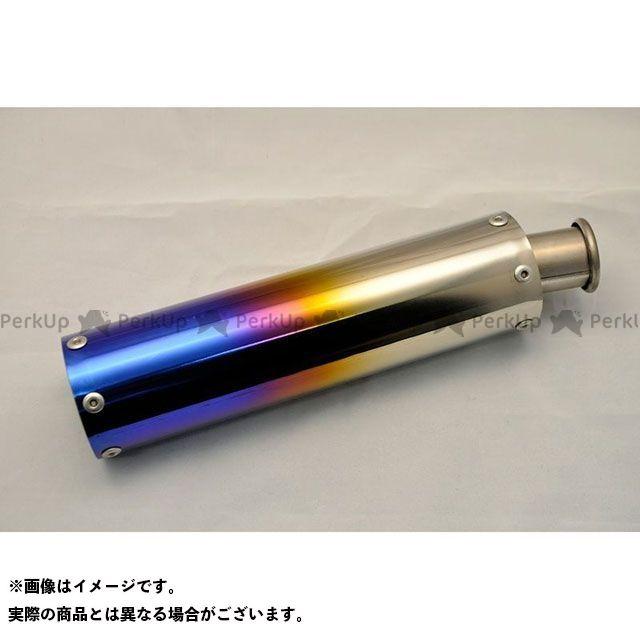 フルチタンサイレンサー ステッカー:長方形タイプ T2Racing T2レーシング 焼色 NSR250R