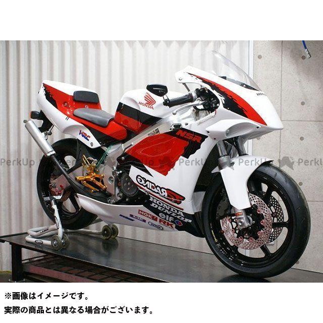 T2レーシング NSR250R フルカウル TYPE-2 ストリート黒ゲル+ ライト黒ゲル ダブルバブルスクリーンタイプ2 T2Racing