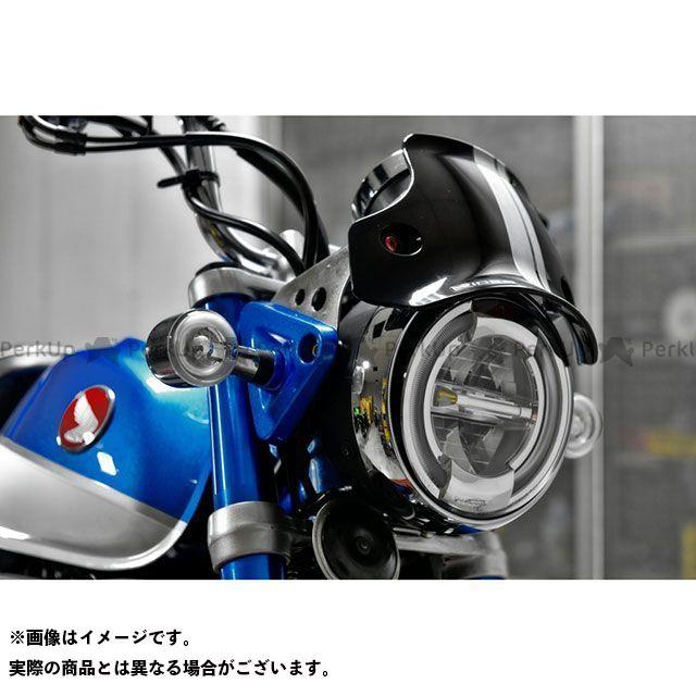 【特価品】リデア モンキー125 ウィンドスクリーン スクリーン本体:ライトスモーク/ブラック RIDEA