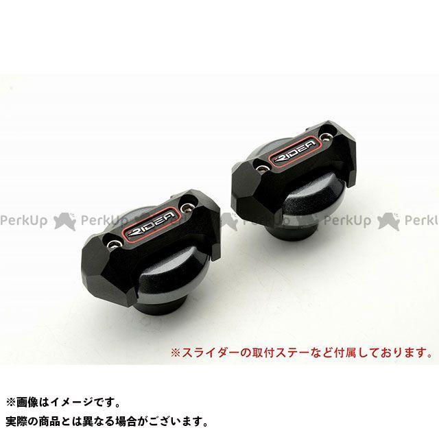 【特価品】リデア YZF-R6 フレームスライダー メタリックタイプ カラー:チタン RIDEA
