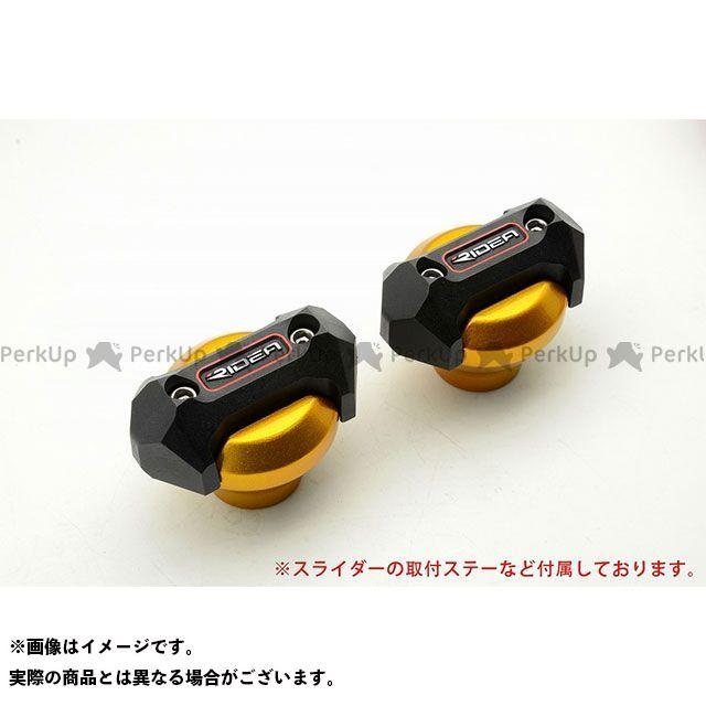 【特価品】リデア YZF-R6 フレームスライダー メタリックタイプ カラー:ゴールド RIDEA