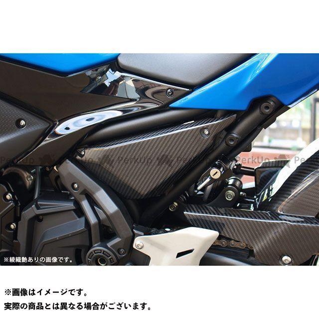 【特価品】SSK ニンジャ650 Z650 サイドカバー 左右セット ドライカーボン 仕様:綾織り艶消し エスエスケー