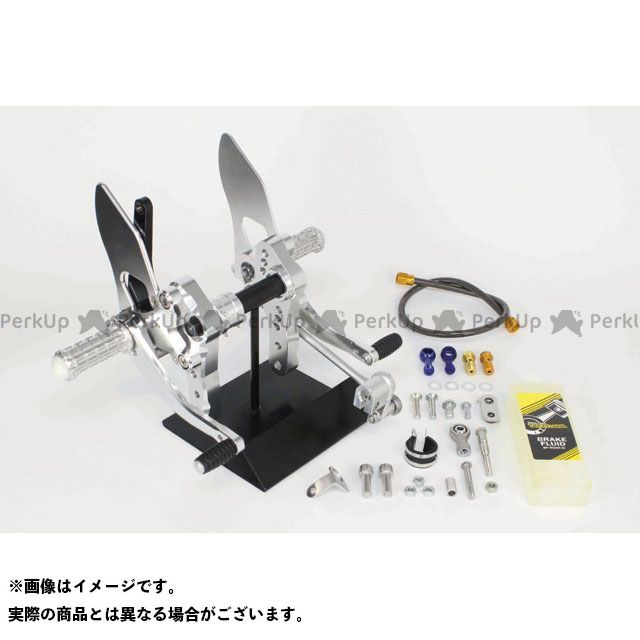 SP武川 モンキー125 バックステップキット(4ポジション)(brembo2Pキャリパー用) TAKEGAWA
