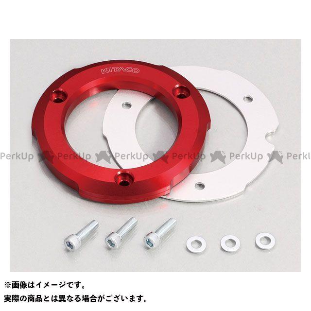キタコ モンキー125 スーパーカブC125 Rクランクケースカバーリング(レッド)  KITACO