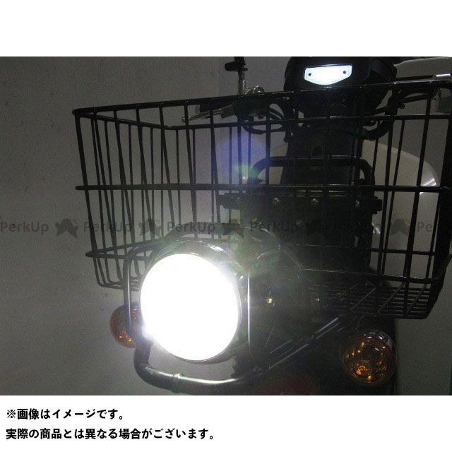 スーパーカブ110プロ 6000K LBH-H13 プロテック LEDマルチリフレクターヘッドライトキット PROTEC