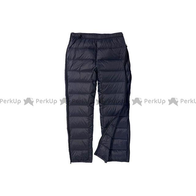 プロモンテ ダウンパンツフルオープン(ブラック) サイズ:XL PUROMONTE