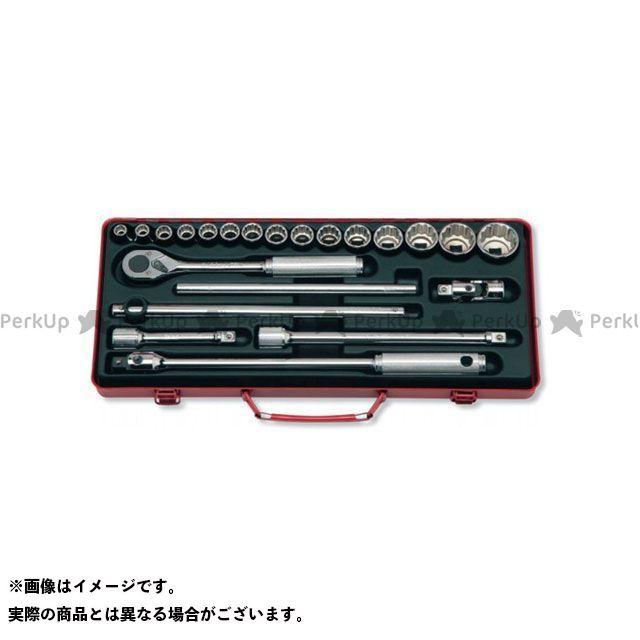 【無料雑誌付き】Ko-ken 4244A 1/2(12.7mm)SQ. ソケットセット 22ヶ組 Ko-ken