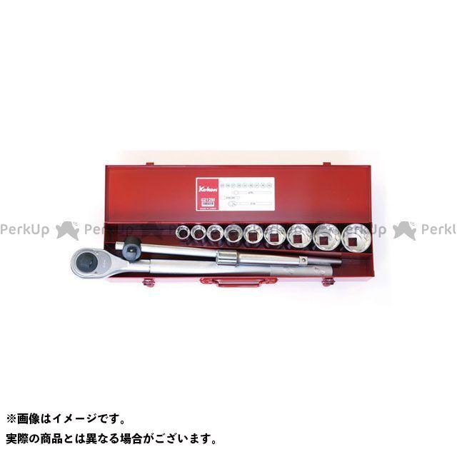 Ko-ken Ko-ken ハンドツール 工具 Ko-ken 6212M 3/4(19mm)SQ. ソケットセット 12ヶ組  Ko-ken