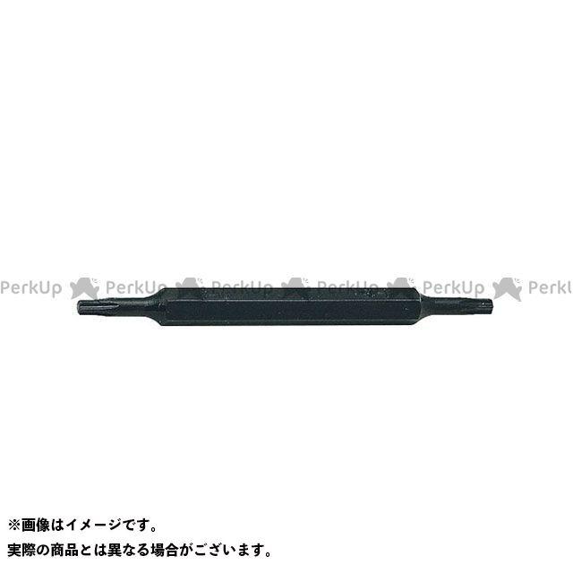 コーケン Ko-ken ハンドツール 工具 エントリーで最大P19倍 オープニング 大放出セール 131T.80-T10XT15 5 トルクス両頭ビット 大規模セール T10xT15 16 H 全長80mm 8mm