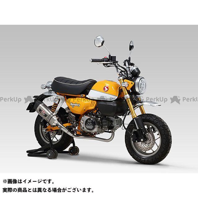 ヨシムラ モンキー125 機械曲 R-77S サイクロンカーボンエンドTYPE-Down EXPORT SPEC 政府認証 SSFC YOSHIMURA