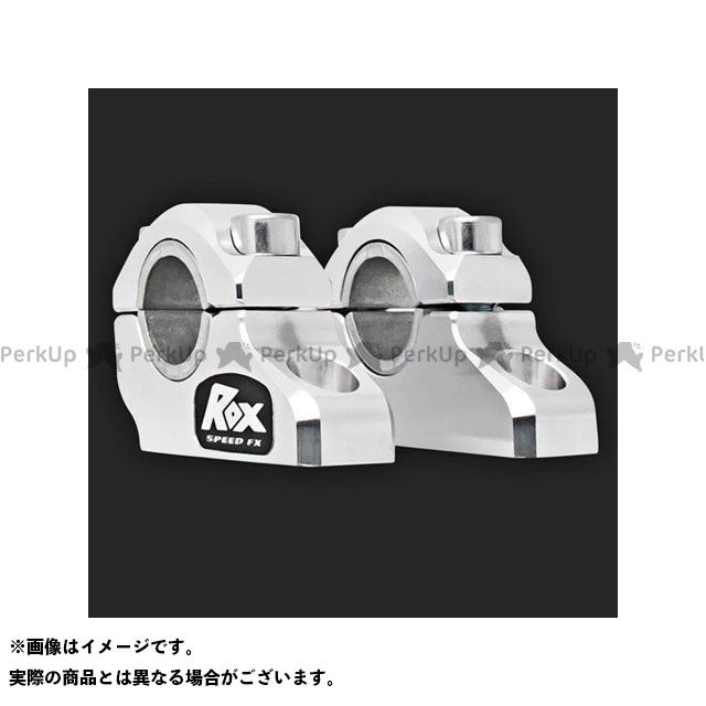 【エントリーで更にP5倍】ROX 汎用 オフセット・ライザー(シルバー) ROX