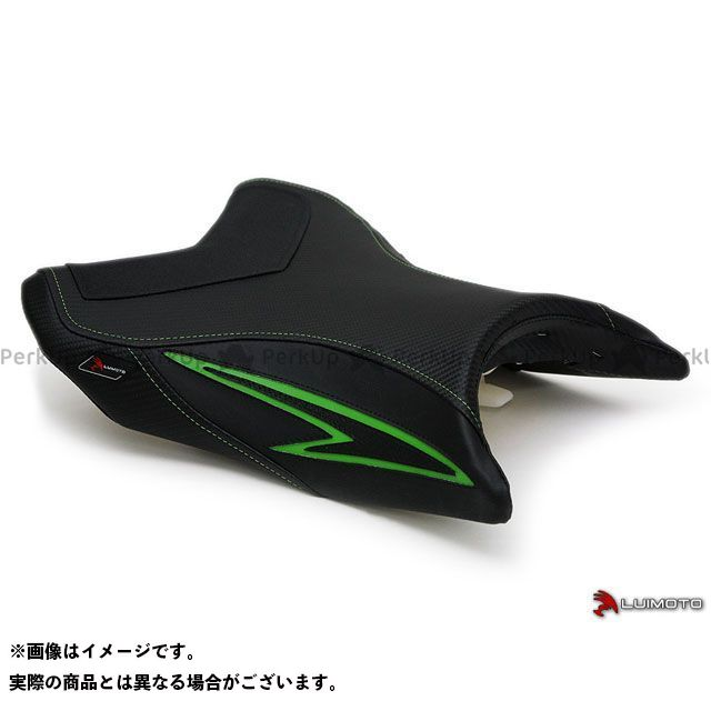 【エントリーで最大P21倍】LUI MOTO Z800 フロント シートカバー Team Kawasaki