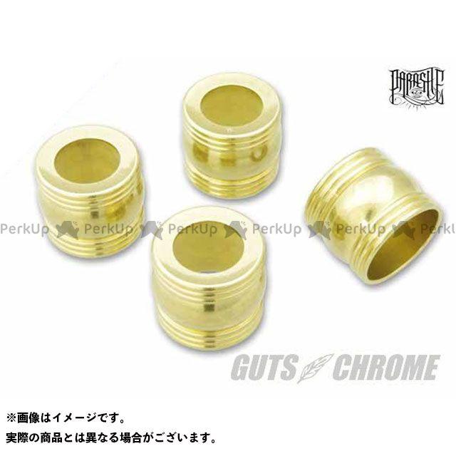 【エントリーで最大P23倍】ガッツクローム プッシュロッドカラー タイプ4 ブラス GUTS CHROME