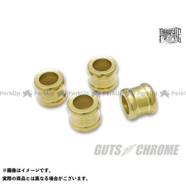 【エントリーで最大P23倍】ガッツクローム プッシュロッドカラー タイプ6 ブラス GUTS CHROME