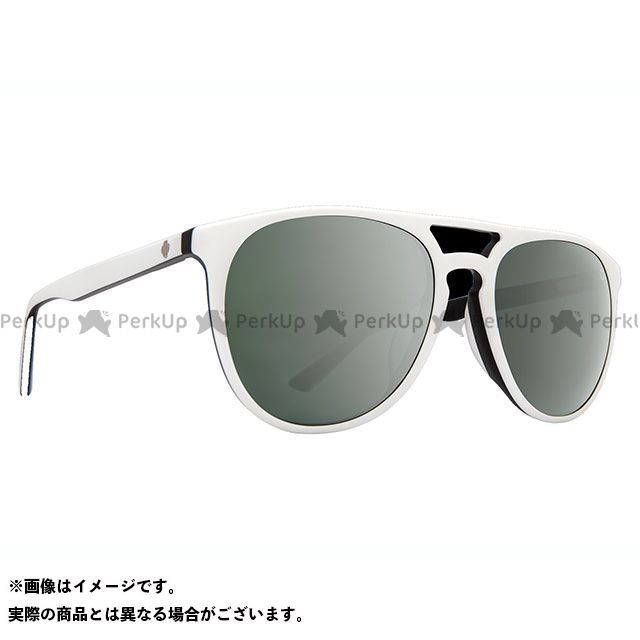 SPY SYNDICATE(MATTE WHITE/BLACK-HAPPY GRAY GREEN w/SILVER SPECTRA MIRROR)  スパイ
