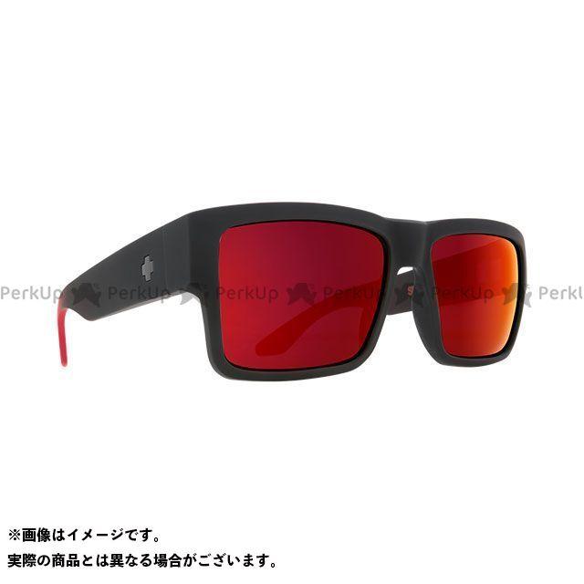 SPY CYRUS(SOFT MATTE BLACK/RED FADE-HAPPY GRAY GREEN w/RED FLASH)  スパイ